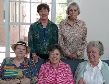 Class of 1963 commemorates Hinshaw Patio