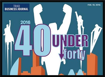 UNCG alumni, staff recognized in Triad Business Journal's 40 Leaders Under Forty