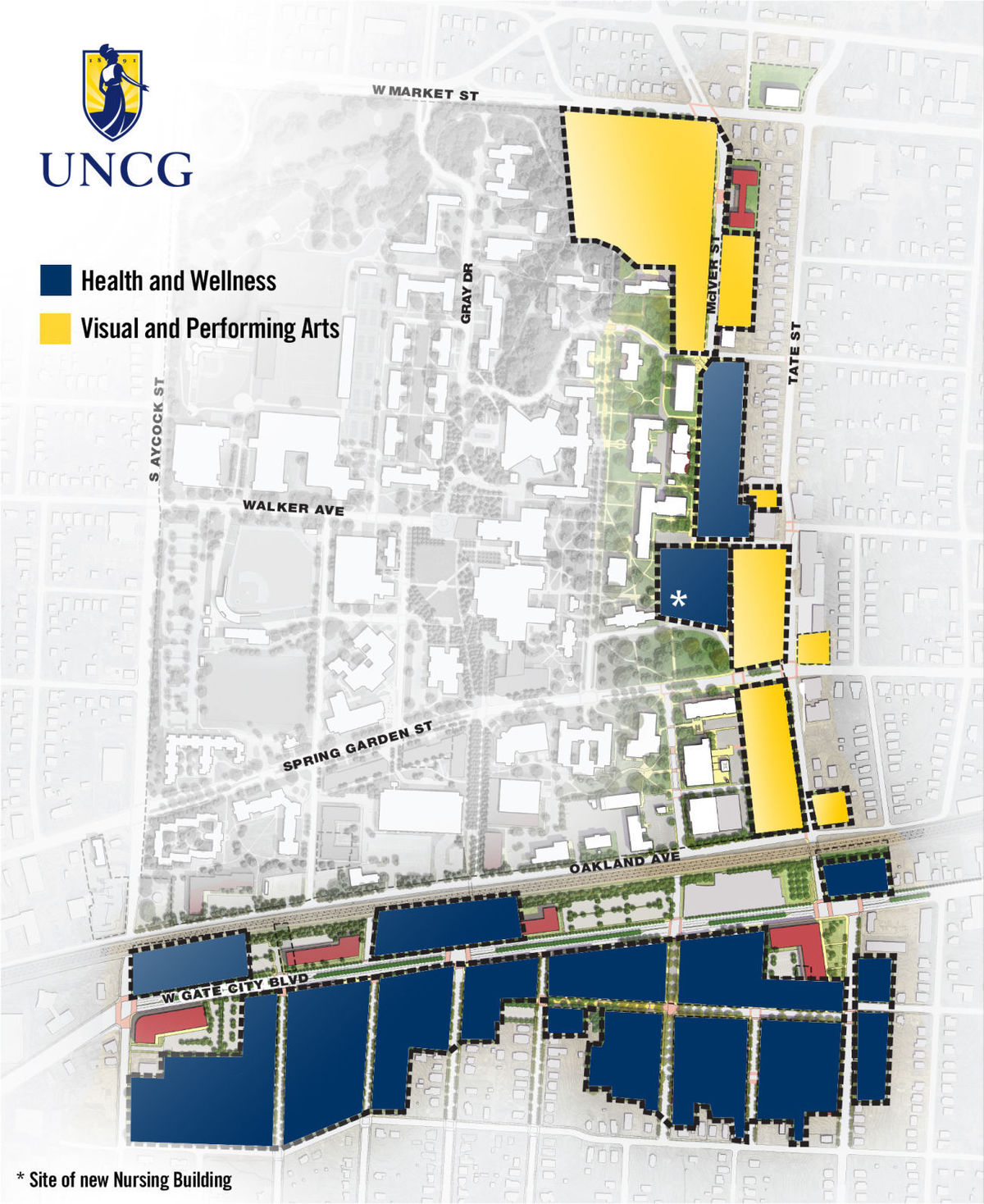 UNCG's millennial campus plan takes big step forward