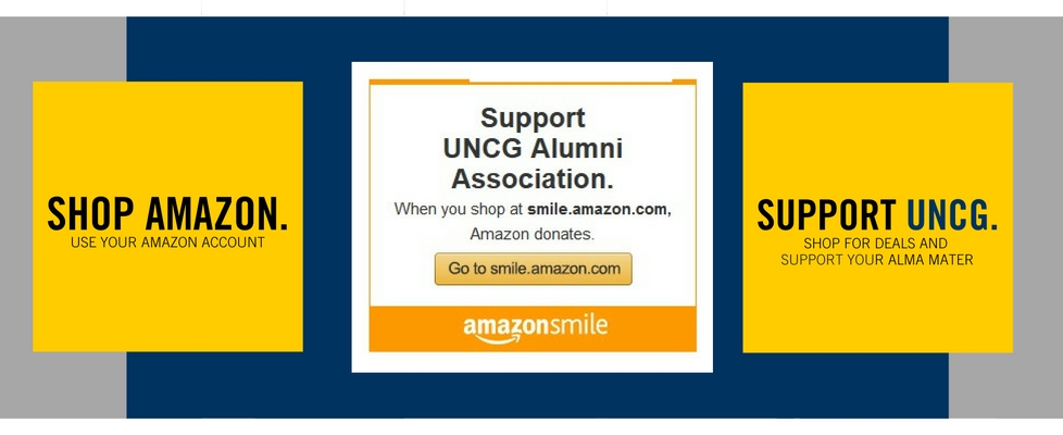 Shop Amazon this Holiday Season and Support UNCG.