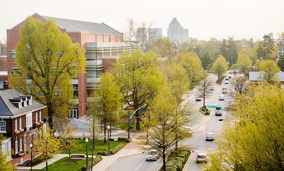 UNCG named top workplace for commuters