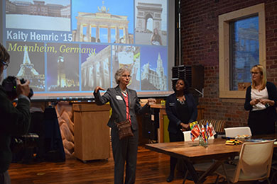 International Programs Center and UNCG Alumni partner for Study Abroad Social