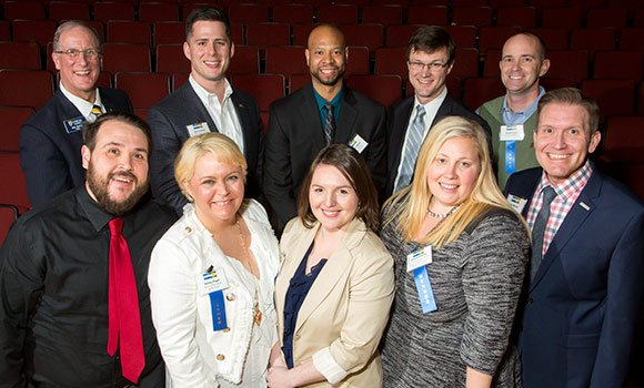 Ten Spartans recognized in Triad Business Journal's 40 Under Forty awards
