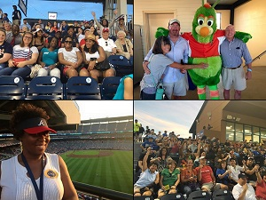 Alumni Networks: Baseball Outings, Welcome to the City Parties