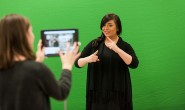 Teaching and tech: Deaf education students create lessons in SELF Design Studio