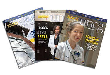 UNCG Magazine needs your stories